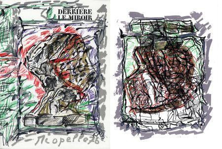 Иллюстрированная Книга Riopelle - Derrière le Miroir n° 218. RIOPELLE. Mars 1976.