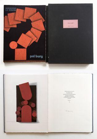 Иллюстрированная Книга Bury - Derrière le Miroir n° 228. POL BURY. Mars 1978. TIRAGE DE LUXE SIGNÉ.
