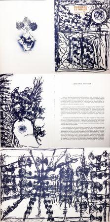 Иллюстрированная Книга Riopelle - Derrière le Miroir n° 232. RIOPELLE. Janvier 1979.