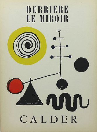 Иллюстрированная Книга Calder - Derrière le Miroir no 31 juillet 1950