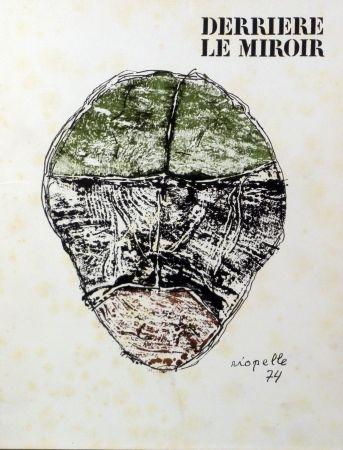 Иллюстрированная Книга Riopelle - Derriere le Miroir n.208
