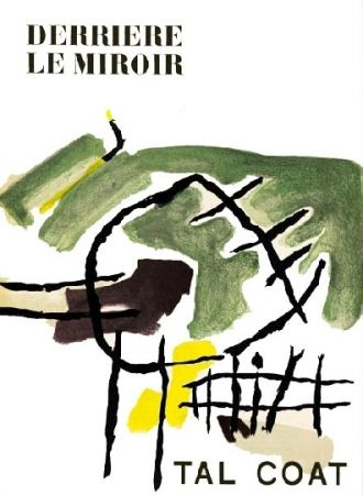 Иллюстрированная Книга Tal Coat - Derriere Le Miroir N°82-83-84