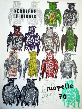 Иллюстрированная Книга Riopelle - Derriere le Miroir n. 185