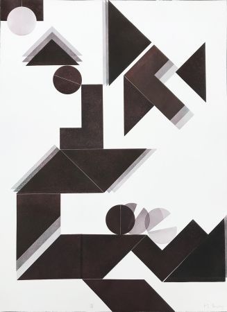 Гравюра Bury - Des idées et des ombres 1