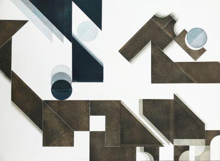 Гравюра Bury - Des idées et des ombres 2