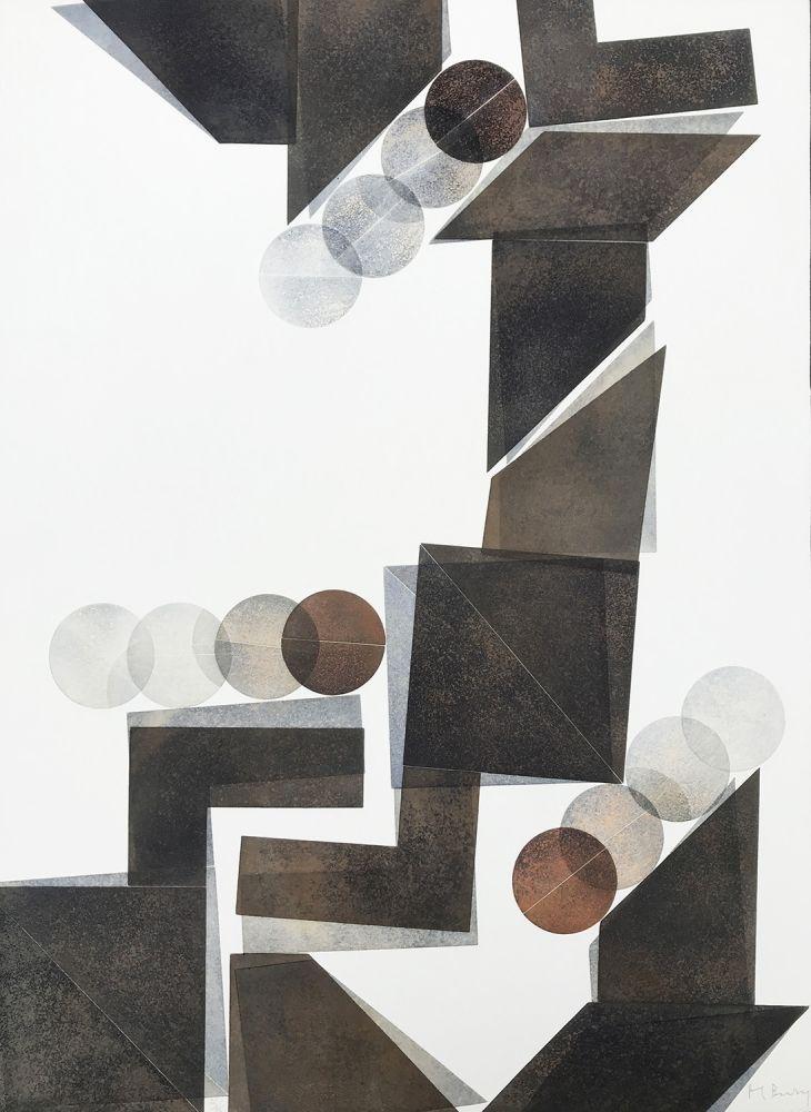 Гравюра Bury - Des idées et des ombres 3