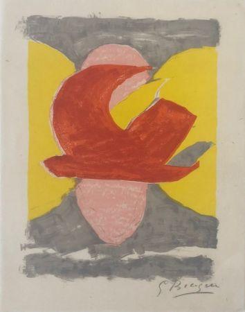 Литография Braque - Descente aux enfers