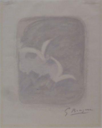 Литография Braque - Descente aux enfers planche 1