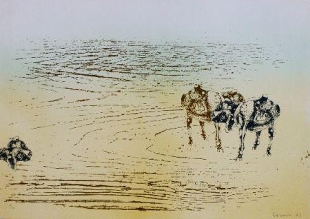 Литография Cremonini - DESERT