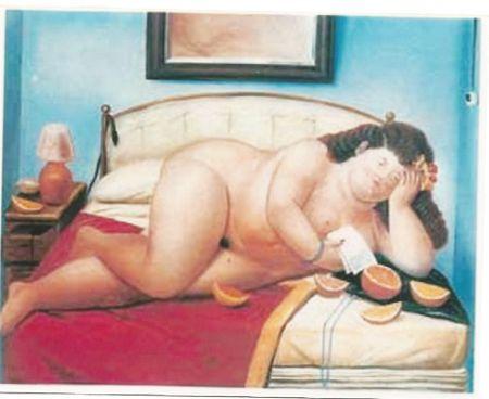Гашение Botero - Desnudo