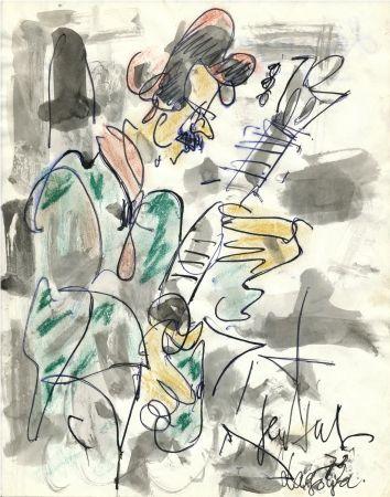 Нет Никаких Технических Paul  - Dessin Original / Original Drawing - ALEXANDRE LAGOYA - Portrait