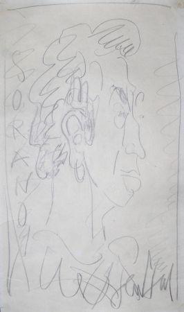 Нет Никаких Технических Paul  - Dessin Original / Original Drawing - DANIEL SORANO - Portrait