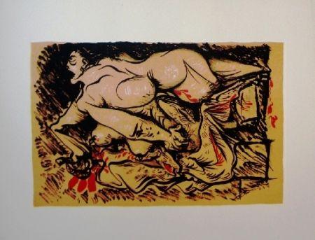 Литография Masson - Dessins érotiques - 20 lithographies