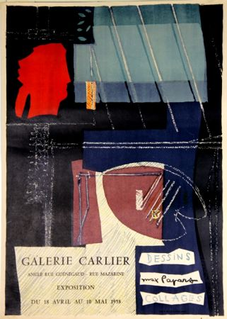 Литография Papart - Dessins Collages  Galerie Carlier