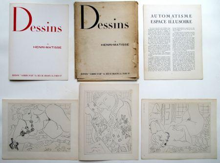 Гашение Matisse - Dessins de Henri-Matisse