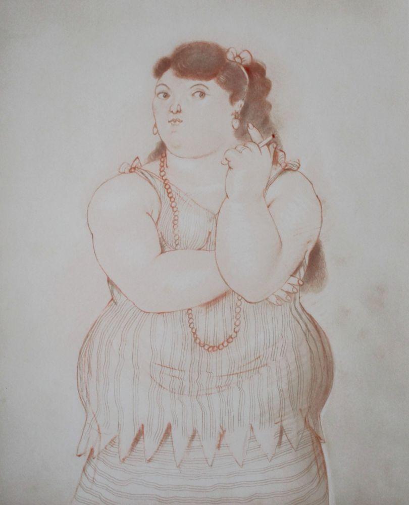 Литография Botero - Dessins et Aquarelles (2)