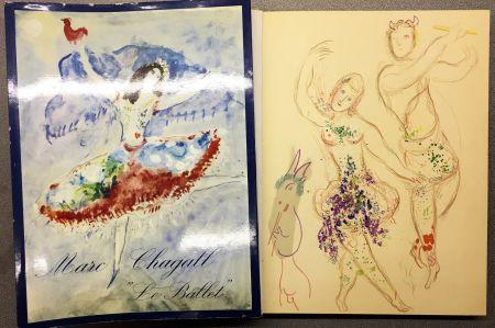 Литография Chagall - DESSINS ET AQUARELLES POUR LE BALLET