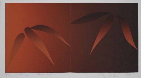 Сериграфия Inoue - Deux bambous