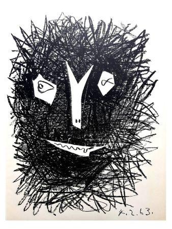 Литография Picasso (After) - Deux Masques