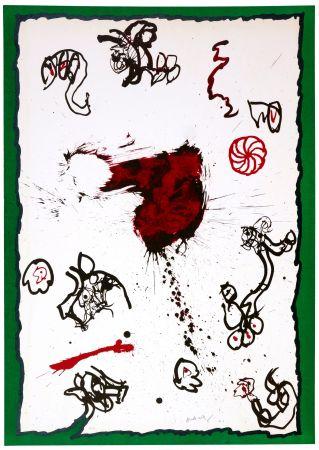 Литография Alechinsky - Deuxième