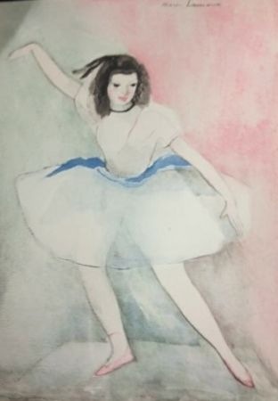 Офорт Laurencin - Dialogue sur la danse