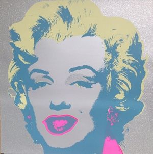 Сериграфия Warhol (After) - Diamond Marilyn (by Sunday B. Morning)