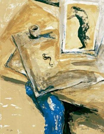 Литография Muñoz - Dibuixos antics II
