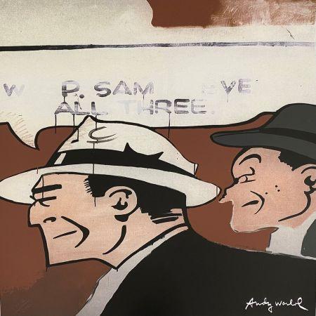 Гашение Warhol - Dick Tracy