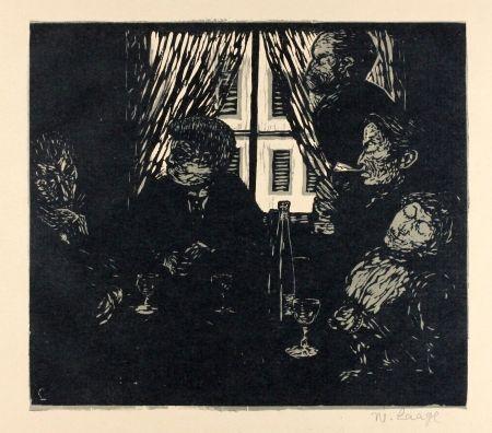 Гравюра На Дереве Laage - Die Stumpfsinnigen (The Dull Ones)