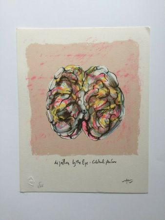 Литография Matta - Digestion by the eye (from Morfolgie Verbali)