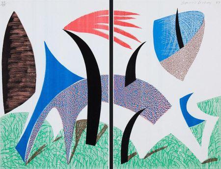 Нет Никаких Технических Hockney - Diptychon