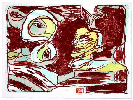 Литография Alechinsky - Dites moi