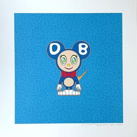 Литография Murakami - DOB 2020 Light Blue