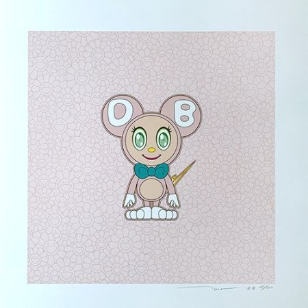 Литография Murakami - DOB 2020 Light Pink