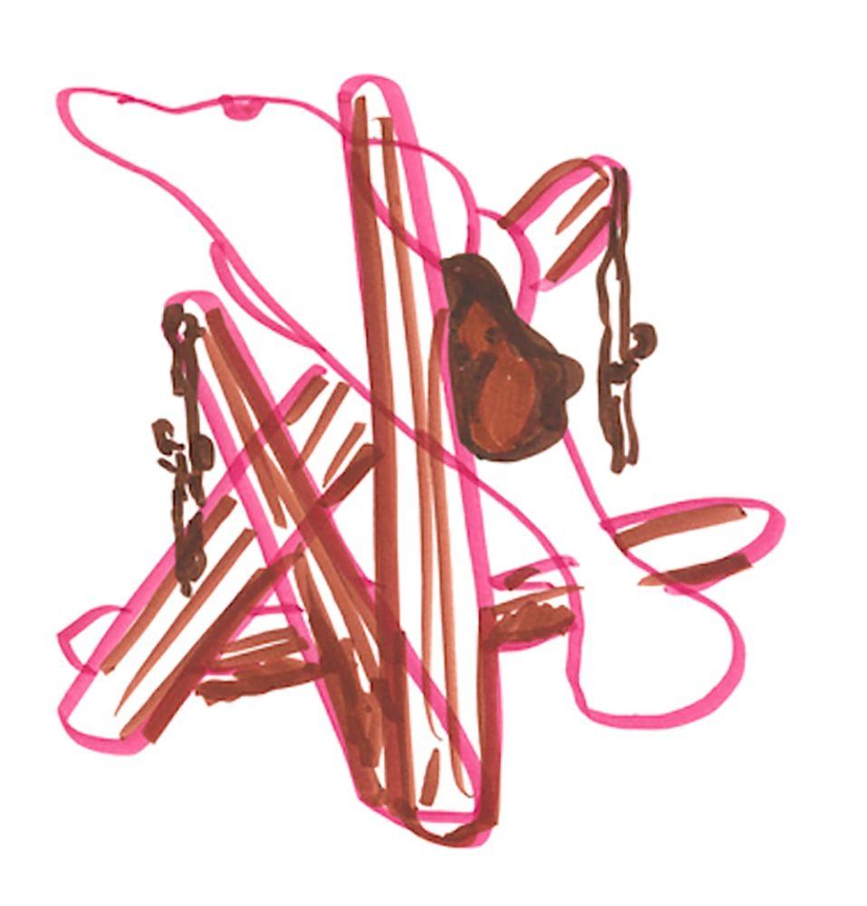 Литография Koons - Dolphin Saddle