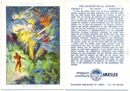 Литография Segrelles - Don Quijote