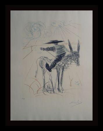 Гравюра Dali - Don Quixote & Sancho Panza Sancho Panza