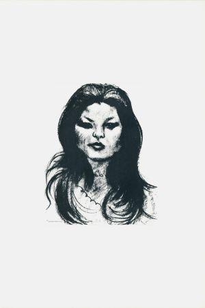 Литография Messina - Donna