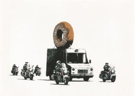 Сериграфия Banksy - Donut (brown)