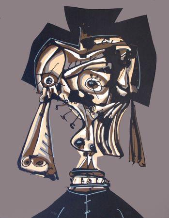Литография Saura - Dora Maar IV
