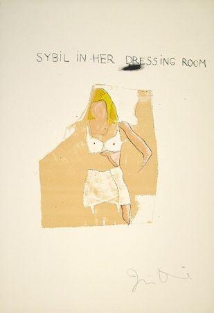 Литография Dine - Dorian Gray, Sybil