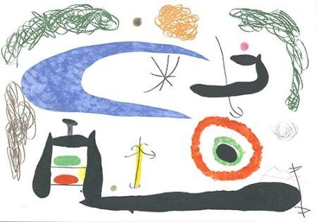 Офорт И Аквитанта Miró - Dormir sous la lune