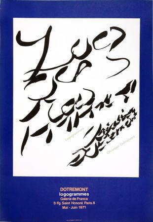 Афиша Alechinsky - Dotremont, logogrammes, 1971