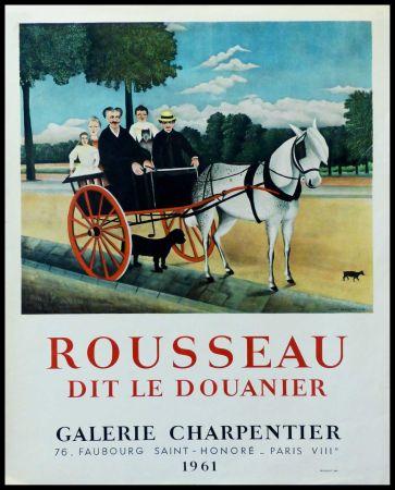 Афиша Rousseau - DOUANIER ROUSSEAU GALERIE CHARPENTIER ROUSSEAU DIT LE DOUANIER