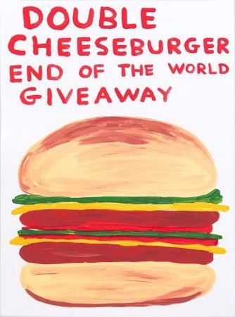 Сериграфия Shrigley - Double Cheeseburger End Of The World Giveaway