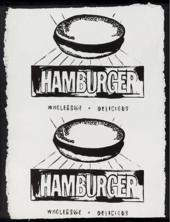 Многоэкземплярное Произведение Warhol - Double Hamburger