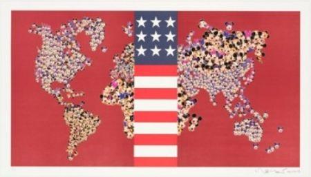 Литография Leirner - Dow Jones