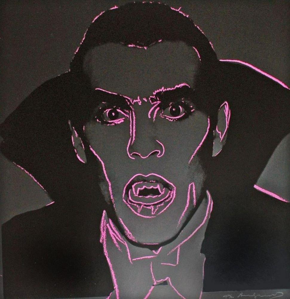 Сериграфия Warhol - Dracula