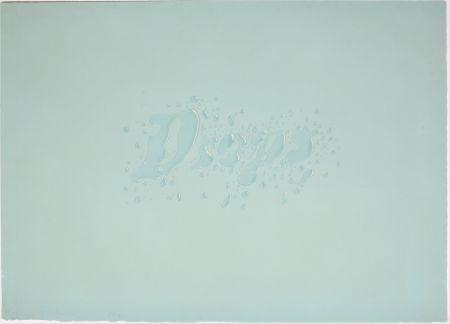 Литография Ruscha - Drops