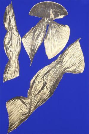 Литография Benglis - Dual Nature (Blue) I